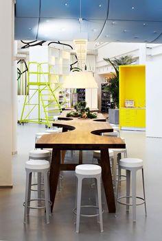 The astounding Contemporary Office Interior Spacious Meeting Space With Contemporary Office Desk