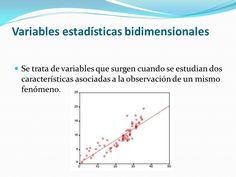 Resultat d'imatges de variables estadístiques unidimensionals i bidimensionals