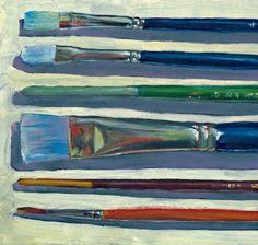 Stripes by Brenda Ferguson, painting by artist Brenda Ferguson Art Painting Gallery, Artist Gallery, Original Artwork, Original Paintings, Paintings I Love, Art Paintings, Pastel Landscape, Stripes, Fine Art