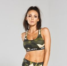 Galaxy Top Women Camo