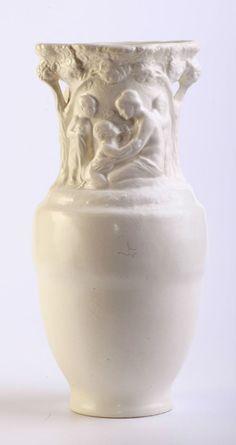 Zsolnay secession / art nouveau vase Austro Hungarian, Mauve, Vases, Art Nouveau, Bottles, Neutral, Jar, Pottery, Beige