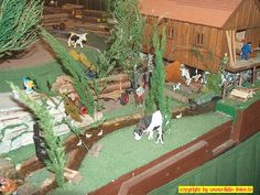 """Ausstellung """"Club der LGB-Freunde Rhein/Sieg"""" in Meckenheim am 19. + 20. März 2005: Bauernhof"""