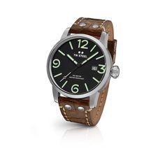 FREE US SHIPPING. TW Steel MS11 Men's Watch 45mm Cognac Vintage Leather Strap Maverick. Authorized Retailer.
