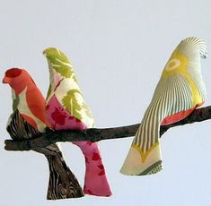Most famous (and beautiful) DIY birds of the web (made by Spoolsewing)