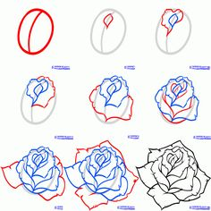 Most recent Pictures rose drawing tutorial Strategies : Learn how to draw with these tutorials, which teach you to draw animals, people, flowers, landscapes and more. When learning how to pull are some thin. Drawing Lessons, Drawing Techniques, Drawing Tips, Drawing Ideas, Drawing Drawing, Drawing Pictures, Drawing Style, Drawing Faces, Art Drawings Sketches