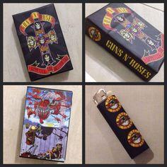 Cibox(cigarete box) GUNS N ROSES