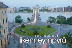 liikenneympyrä ~ roundabout And Budapest :) Learn Finnish, Finnish Words, Finnish Language, Language Study, Helsinki, Budapest, Vocabulary, Fun Facts, Traveling