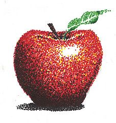 Apple Pointallism