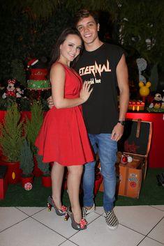 366edb0ad3142 Larissa Manoela ganha declaração do namorado no dia do aniversário   Te  amo!