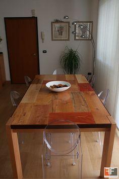CHELSEA. Tavolo Patchwood in legno massello costruito con varie essenze di legni pregiati. Misure: 200x100 cm; h 78 cm € 2.900 #interior #design