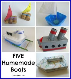 116 Best Boat Crafts and Activities for Kids images | Boat crafts ...