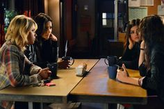 Hanna Marin, Emily Fields, Aria Montgomery, Spencer Hastings