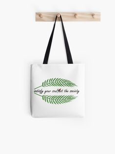 """Tropical green leaf "" Tote Bag by Big Leaves, Green Leaves, Large Bags, Small Bags, Medium Bags, Cotton Tote Bags, Are You The One, Tropical, Stylish"