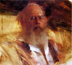 Richard Schmid, Portrait, Edges, Lost edges, Color, Light, Form, Technique, Focal Point, Impression