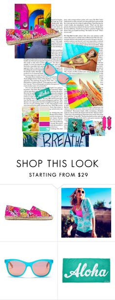 """""""Beach Fun Elements"""" by liddy-white ❤ liked on Polyvore featuring OAS, Victoria's Secret, Wildfox and Edie Parker"""