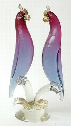 A Seguso Vetriarte Somerso glass sculpture, attributed to… - Venetian - Archimede Seguso - Glass -