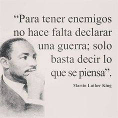 Martin Luther King and how to create a war Words Quotes, Wise Words, Life Quotes, Sayings, Envy Quotes, Motivational Phrases, Inspirational Quotes, Favorite Quotes, Best Quotes
