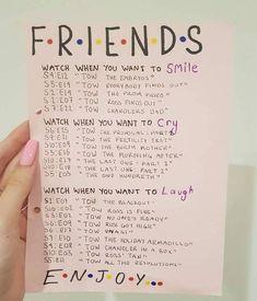 Friends episodes to watch when...
