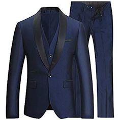 Costume Homme Tuxedo Diner Trois-pièces d affaire Mariage Business Suit Un  Bouton à b780628f8e9