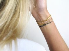 bracelets and bracelet tattoo