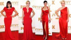 13-red dresses