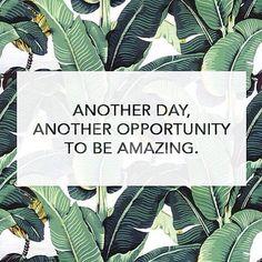 Each day is a new beginning. Source: Instagram user fiveamoreganics