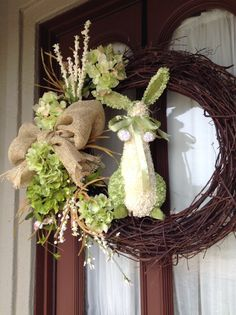 Easter Wreath by ThePerfectTreasure on Etsy, $75.00