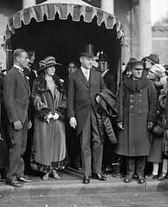 President and Mrs. Coolidge, 1924