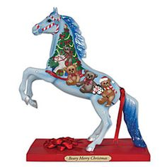 $23.97 Trail of Painted Ponies Figurine-Beary Merry Christmas