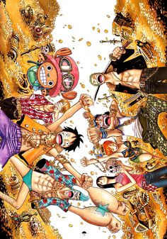 Eiichrio Oda. One Piece.