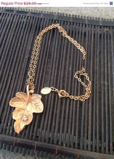 A personal favorite from my Etsy shop https://www.etsy.com/listing/224596132/vintage-chain-necklace-avon-gold-chain-w