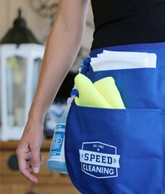 Our exclusive Cleaning Apron is the first and most important secret to getting housecleaning over with quickly. Speed Cleaning, House Cleaning Tips, Cleaning Hacks, Cleaning Supplies, Cleaning Products, Clutter Control, Clean Space, Pet Safe, Smell Good