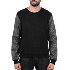 Sixth June - Simili Sweater Noir/Elephant