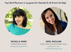 Grown Up Gigs: April MacLean, founder of Messy Warrior and Room to Dance Studio