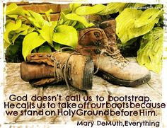 Don't bootstrap on holy ground.