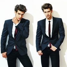 Andrew Garfield - he has that awkward and nerdy type qualities to him which makes him kind of hot YES the cutes bf in the Amazing Spiderman Andrew Garfield, Gorgeous Men, Beautiful People, My Sun And Stars, Suit Up, Amazing Spiderman, Raining Men, Skinny Ties, Attractive People