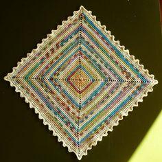 Funky Doily By Annette Petavy - Free Crochet Pattern - (ravelry)