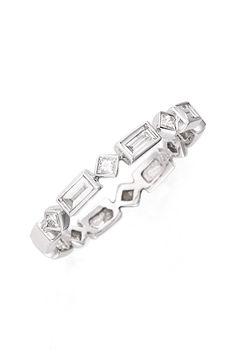 $1295 Bony Levy Skinny Baguette Ring (Nordstrom Exclusive)