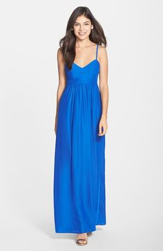 FELICITY & COCO FELICITY & COCO Empire Waist Maxi Dress (Regular & Petite) (Nordstrom Exclusive) available at #Nordstrom
