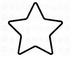 Traditional Tattoo Old School, Traditional Tattoos, Neo Traditional, American Traditional, Michael Jackson Party, Star Template, Templates, Star Outline, Star Silhouette