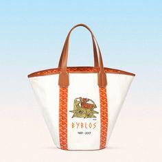 "GOYARD ""Maison Goyard is proud to introduce the Byblos Bag"" Goyard Bag, Small Leather Goods, Saint Tropez, Luxury Handbags, Hermes Birkin, Reusable Tote Bags, Louis Vuitton, Photo And Video, 50th Anniversary"