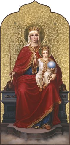 Валаам. Икона Божией Матери Державная Religious Pictures, Religious Icons, Blessed Mother Mary, Blessed Virgin Mary, Mother Mary Images, Jesus Mary And Joseph, Religion Catolica, Jesus Christus, Mama Mary