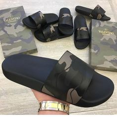 Cute Sandals, Cute Shoes, Shoes Sandals, Shoes Sneakers, Heels, Fashion Slippers, Fashion Sandals, Dope Swag Outfits, Nike Slippers