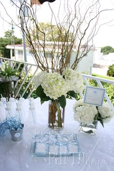 """Photo 4 of 14: Baby Shower/Sip & See """"Blue Fish Baby Shower"""" 