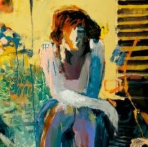 "Linda Christensen ""Steps"" 12  x 12."