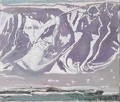 Esjan í vorleysingum by Johannes S. Kjarval