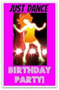 7 Year Old Girl Birthday Party Idea: Just Dance Half-Sleepover Party! — MomOf6