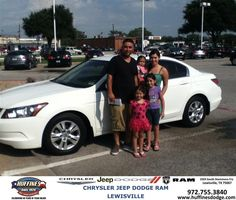 https://flic.kr/p/w9CVnw | #HappyAnniversary to Juan  Rocha on your 2008 #Honda #Accord Sedan from Ruben Cantu at Huffines Chrysler Jeep Dodge Ram Lewisville! | www.huffinesdodge.com/?utm_source=Flickr&utm_medium=D...