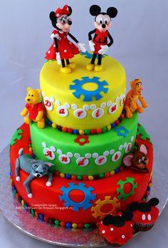 Mickey Mouse Cake, Ale, Birthday Cake, Desserts, Food, Tailgate Desserts, Birthday Cakes, Deserts, Eten