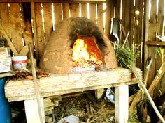 Pan el horno de barro!